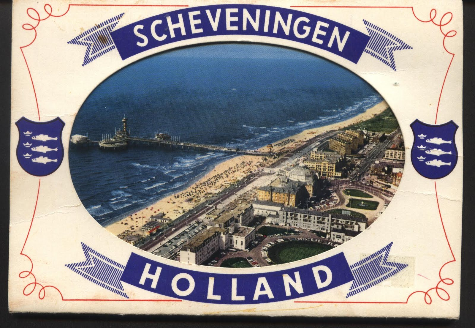 Omran elmajdoub postcards stamps covers and sheets greeting from greeting from scheveningen holland m4hsunfo