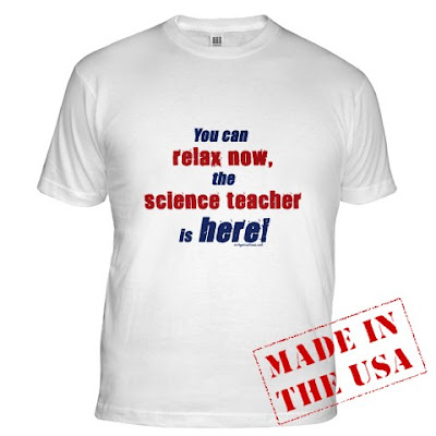Funny t-shirt You can relax now, teacher is here! science teachers, English teachers, math teachers, social studies teachers, art teachers, P.E. teachers, music teachers, and Spanish teachers