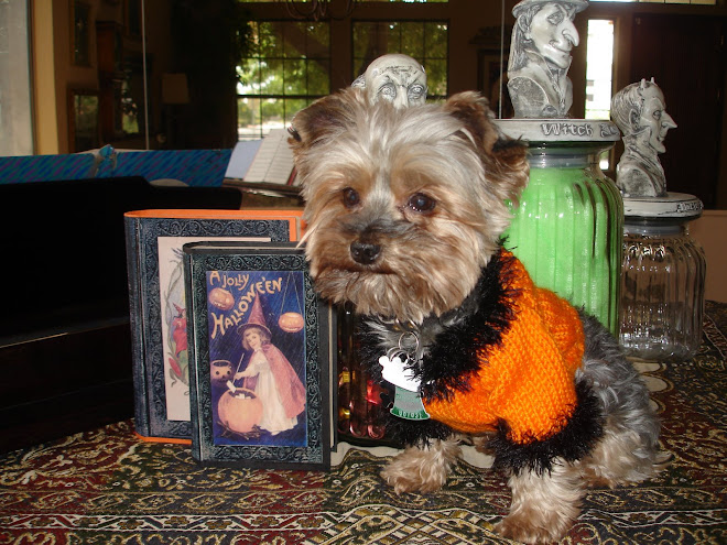 Baxter says: Happy Halloween Family!!