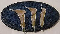 cloisonne flower lilies