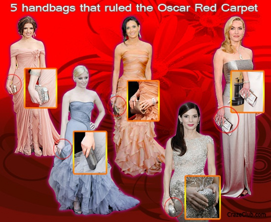 5 handbags that ruled the Oscar Red Carpet