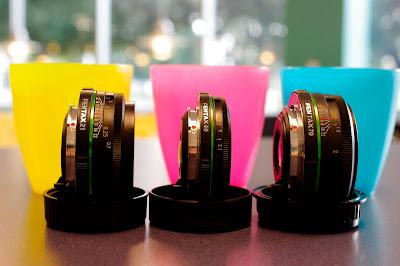 pentax da limited lenses