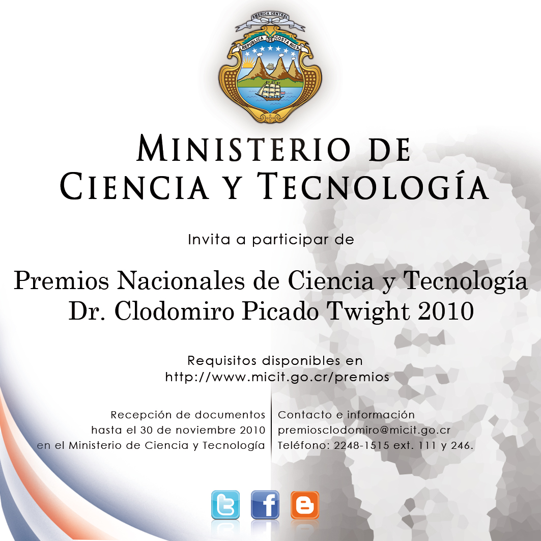 Ministerio de ciencia y tecnolog a micit ampli plazo for Ministerio de ciencia