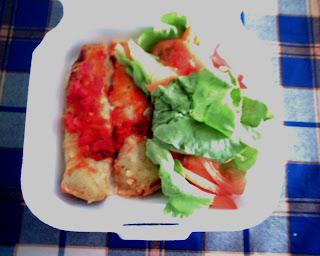 Imagen de 'Canelones entre Lechuga y Tomate'
