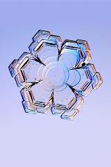 Crystal snowflake.