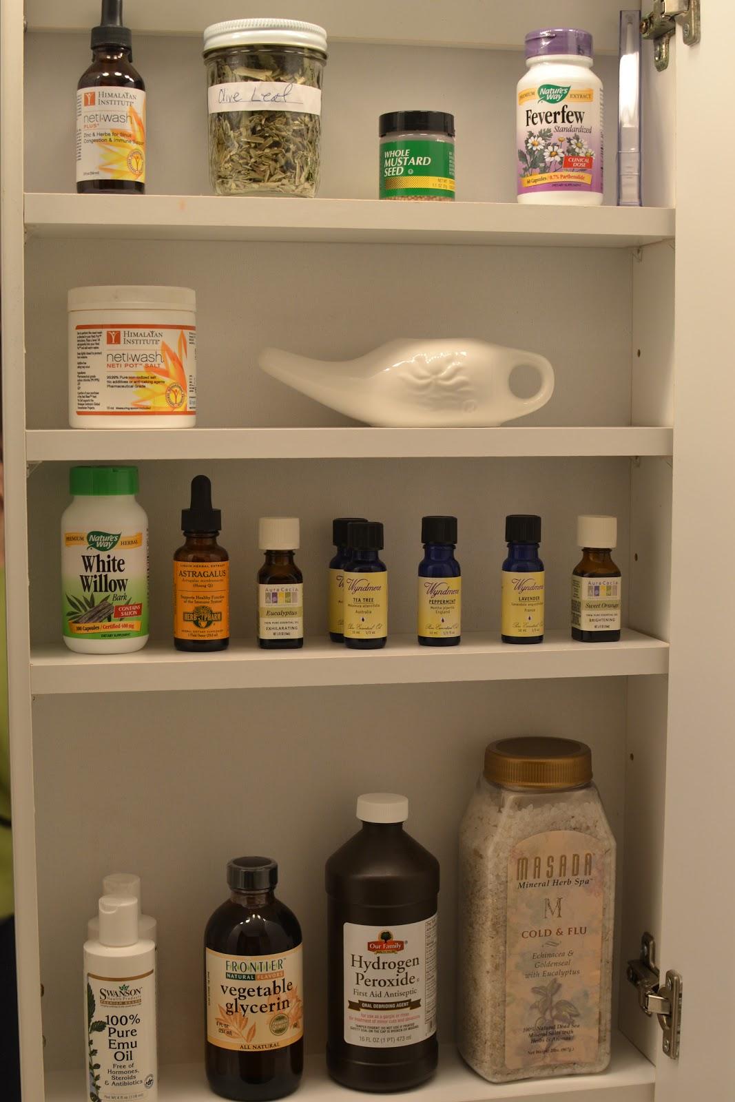 Sense of Home Kitchen: The Natural Medicine Cabinet