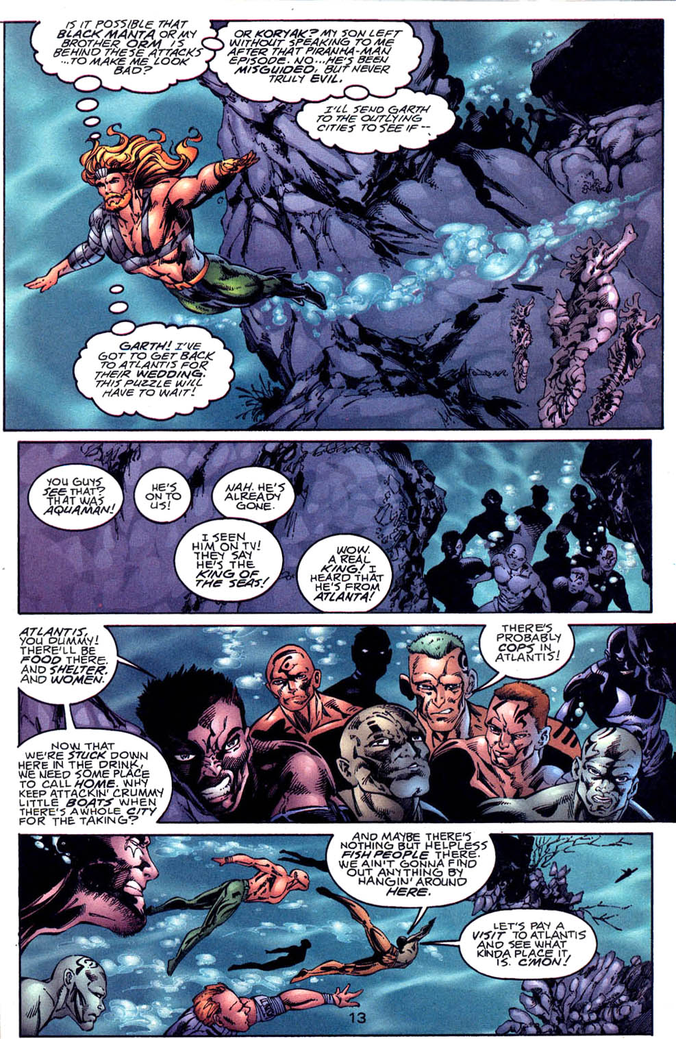 Aquaman (1994) Issue #60 #66 - English 14