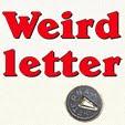 Weirdletter