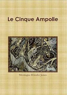 M.R. James, Le cinque ampolle, 2010 copertina