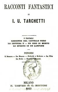 Igino Ugo Tarchetti, Racconti fantastici, 1869, frontespizio
