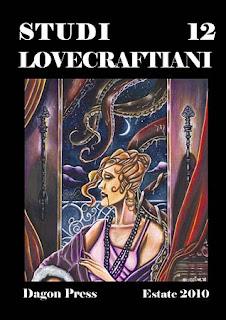 Studi Lovecraftiani 12, copertina di Matteo Bocci