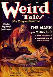 Weird Tales, maggio 1941, copertina