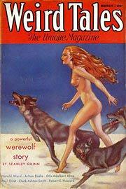 Weird Tales, marzo 1925, copertina