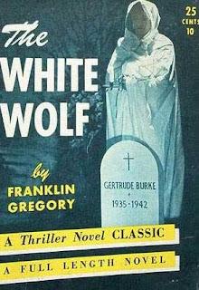 The White Wolf, 1941, copertina