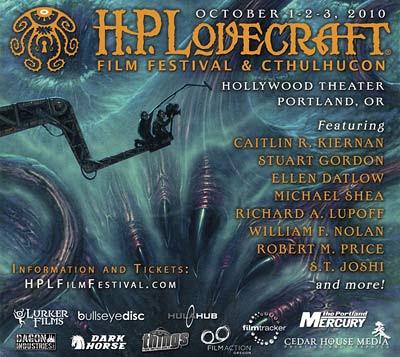 H.P. Lovecraft Film Festival, Portland 2010, locandina