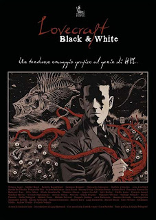 Lovecraft Black & White, 2010, copertina