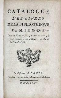 Catalogues des livres de la bibliothèque de M. Ed. C., frontespizio