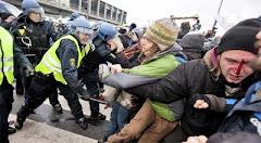 en Diciembre 2010 el gobierno danes agredio y detuvo a mas de 1000 activistas que pedian un Acuerdo