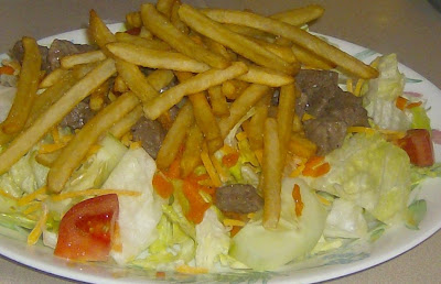 from the heart of my kitchen steak salad pittsburgh style