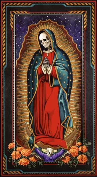 La Virgen De Guadalupe Drawings