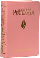 biblia de estudo pentecostal