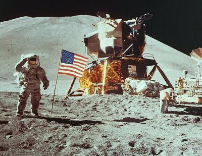 landing on moon. Man Landing On The Moon;