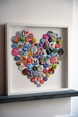 Brigitte Herrod button badge heart picture