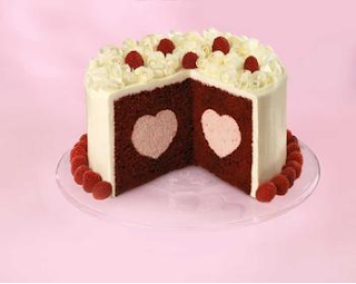 Heart fill cake tin by Cottage Cooks