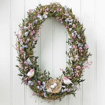 Bird's Nest Wreath from Williams Sonoma