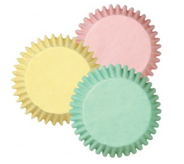 Pastel muffin cake cases by Sweet Cuisine