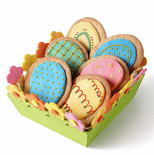 Egg shaped cookies by Hobby Craft