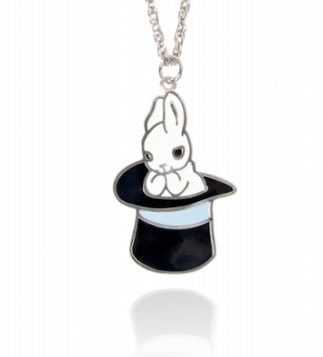 Magical bunny necklace by Anna Lou