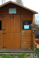 Renovated garden shed (before)
