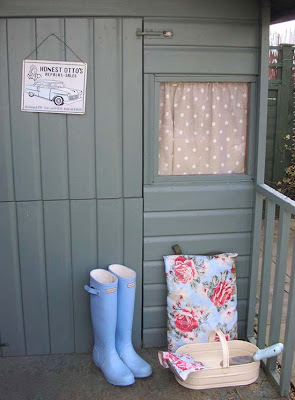 Renovated garden shed (after)