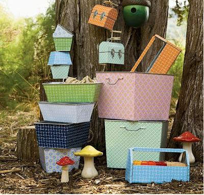 Serena & Lily storage bins