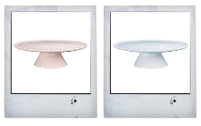 Pastel cake stands from John Lewis