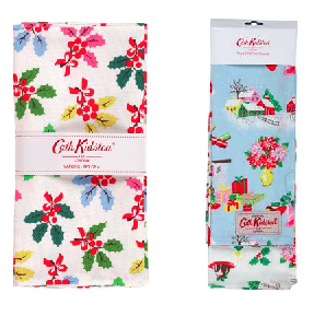 Christmas napkins by Cath Kidston