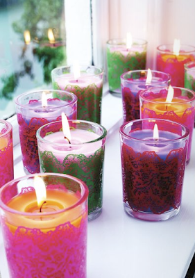 Rice DK candles