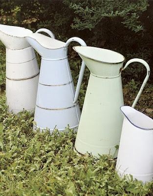 Pastel jugs by Country Living
