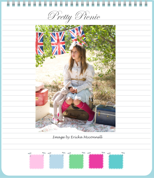 Pretty picnic page 1 by Torie Jayne