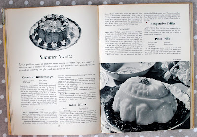 Blancmange recipe from Blanche Anding