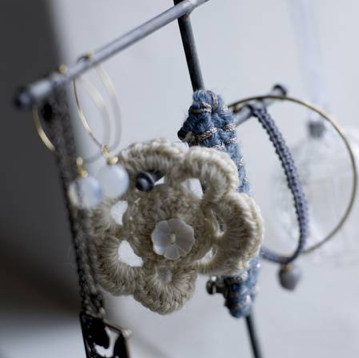 Crochet jewellery by Bloomingville