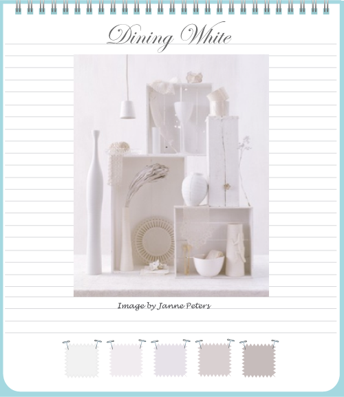 Dining White by Torie Jayne