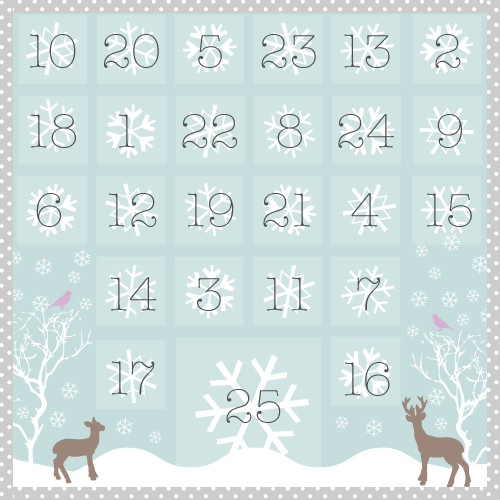 Advent Calendar by Torie Jayne