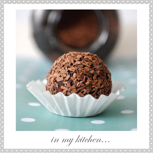 Hotel Chocolat double milk chocolate truffles by Torie Jayne