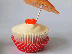 Gluten-free mai tai cupcakes by Torie Jayne