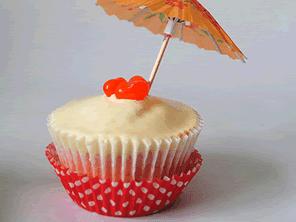 Gluten-free mai tai cupcakes by Torie Jayne