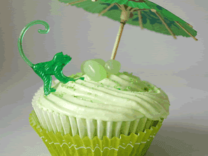 Gluten-free margarita cupcakes by Torie Jayne