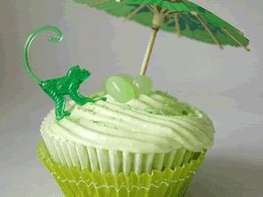 Gluten-free margarita cupcakes by Torie Jayne