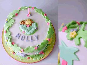Jungle themed gluten-free birthday cake by Torie Jayne